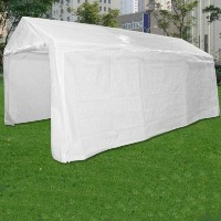 White 10'x20' White Portable Party Tent Garage Car Port
