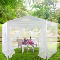 High Quality 6.6' x 6.6' x 6.6' Hexagonal Gazebo / Party Tent