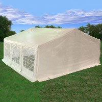 Heavy Duty 20' x 20' White Party Tent
