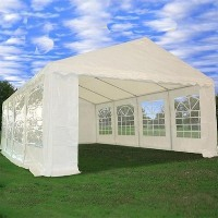 Heavy Duty 26' x 16' White Party Tent