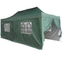 Heavy Duty 10' x 20' Green EZ Pop Up Party Tent