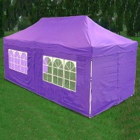 Purple 10' x 20' Pop Up Canopy Party Tent