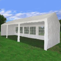 Heavy Duty 30' x 10' White Party Tent