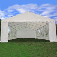 Heavy Duty 32' x 16' White Party Wedding Tent Canopy Carport