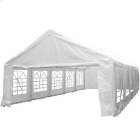 Heavy Duty White 16.4' x 32.8' Party Tent