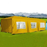 10 x 30 Yellow Gazebo Party Tent Canopy