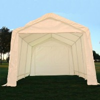 White 20' x 10' Heavy Duty Party Tent / Carport