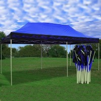 Blue Flame 10' x 20' Pop Up Canopy Party Tent