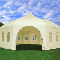 High Quality 22' x 20' Cream Party Canopy Tent