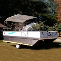 Brand New 8 ft x 12 ft. Pontoon Boat