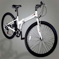 "High Quality Blue 26"" Inch White 6 Speed Folding Mountain Bicycle"