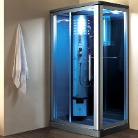 "Brand New Walk-In Steam Shower 45"" x 34"" x 85"""