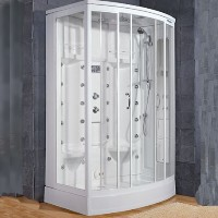 "Brand New Walk In Steam Shower 56"" x 37"" x 89"""