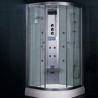 Zen Brand New Indulgent Walk In Steam Shower