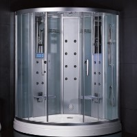 Zen Brand New Computerized 2 Person Walk In Steam Shower
