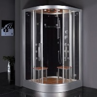 Zen Brand New Computerized Contemporary Walk In Steam Shower