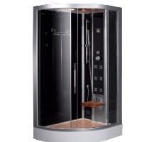 "Zen Brand New Computerized Contemporary Walk In Steam Shower 47.7"" x 35.4"" x 89"""