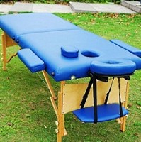 Blue Portable Massage Table Bed