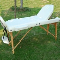 "Creme Soozier 3"" Thick Portable Massage Table"