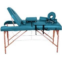 "Green Soozier 4"" Thick Portable Massage Table"