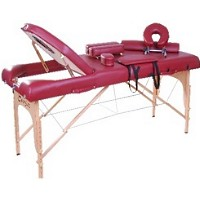 "Rose Soozier 4"" Thick Portable Massage Table"