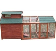 High Quality Chicken Coop House with 3 Internal Perches & Run
