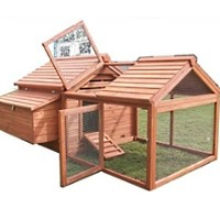 High Quality Backyard Chicken Coop House with 3.5 FT Run