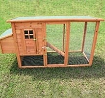 High Quality Wooden Chicken Coop / Rabbit Hutch