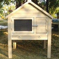 High Quality Southern Dome Style Rabbit Hutch