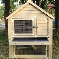 High Quality Huntington Style Townhouse Rabbit Hutch