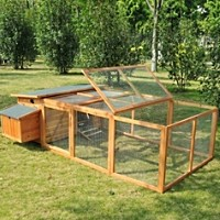 High Quality Wood Chicken Coop Hen House