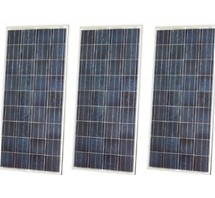 High Quality 120 Watt Solar Panel - 3 Panels, 360 Total Watts