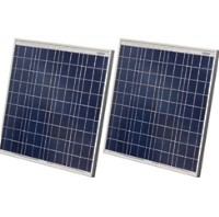 High Quality 60 Watt Solar Panel - 2 Panels, 120 Total Watts