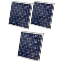 High Quality 60 Watt Solar Panel - 3 Panels, 180 Total Watts