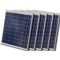 High Quality 60 Watt Solar Panel - 5 Panels, 300 Total Watts