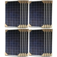High Quality 280 Watt Solar Panel - 20 Panels, 5600 Total Watts
