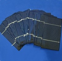 550 High Quality Multi-Crystalline 3x6 Short Tabbed Solar Cells - 1KW