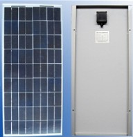 High Quality 35 Watt Off Grid Solar Panel 12V Battery Charger