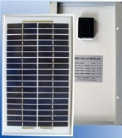 High Quality 5 Watt Off Grid Solar Panel 12V Battery Charger - 10 Pieces