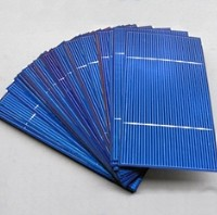 500 High Quality Multi-Crystalline 3x6 Untabbed Solar Cells - 875 Watts