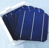 100 High Quality MonoCrystalline 6x6 Untabbed Solar Cells - 350 Watts