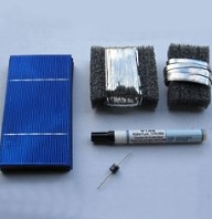 High Quality Solar DIY Panel 375W Kit - 216 3x6 Untabbed Cells