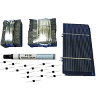 High Quality Solar DIY Panel 200 Watt Kit - 120 3x6 Short Tabbed Cells
