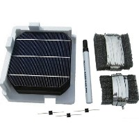 High Quality Solar DIY Panel 350W Kit - 100 Mono 6 x 6 Cells + Junction Box