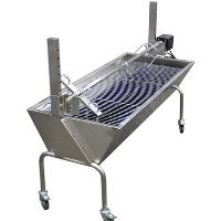 Brand New Portable Rotisserie Pig Roaster Charcoal Barbecue Grill