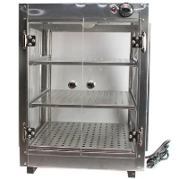 18x18x24 Aluminum Food Warmer Display Case