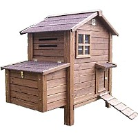 High Quality Chicken Coop House with Grooved Treated Fir Timber