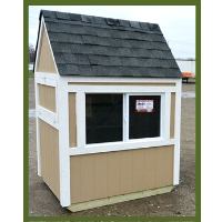 Amish Coop Backyard Chicken Coop Wood Hen House
