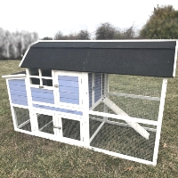 Backyard Chicken Coop Wood Hen Duck Rabbit House - CC-96