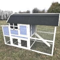Backyard Chicken Coop Wood Hen Duck Rabbit House - CC-96